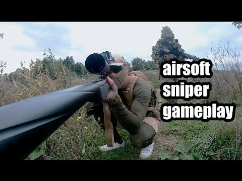 gameplay de sniper airsoft – Autriche, Paintballpark Wien