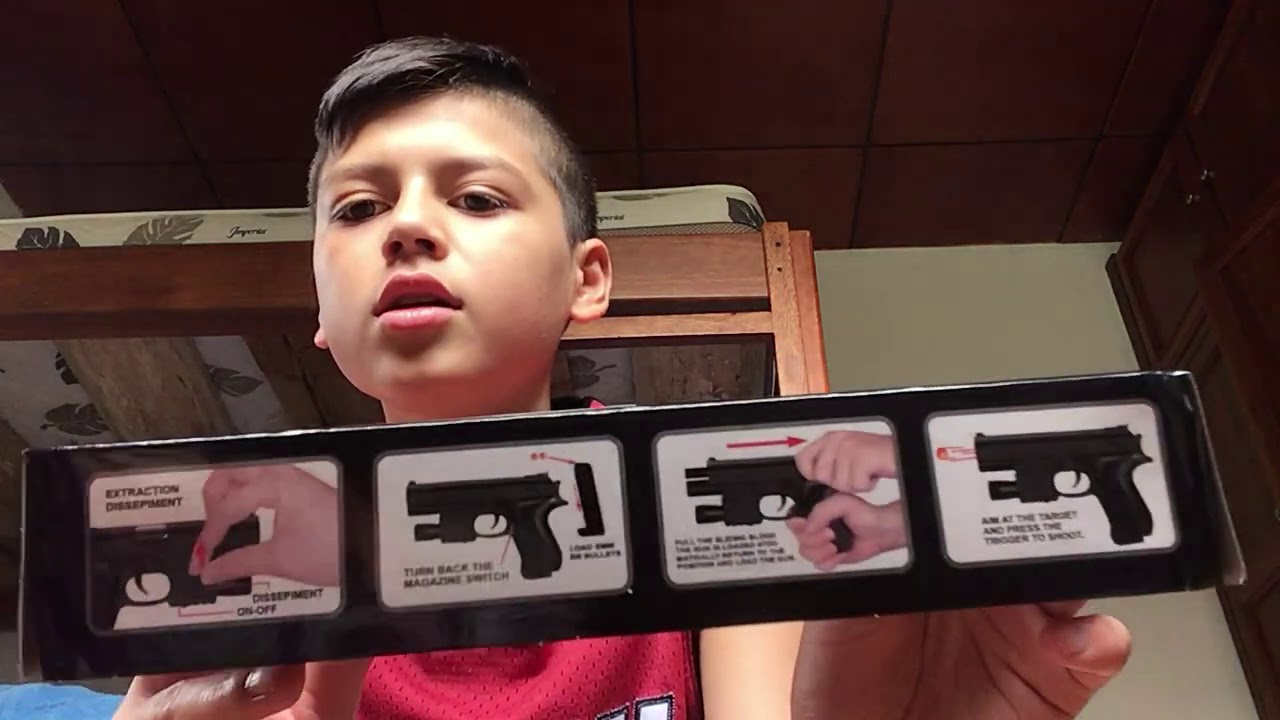 Examen du pistolet AirSoft