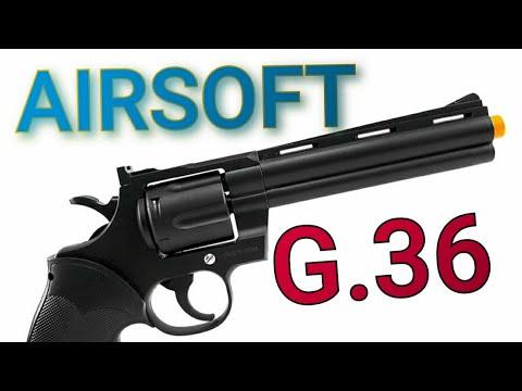 """REVOLVER G.36 airsoft 6mm est-il bon ?? """"LA REVUE"""""""