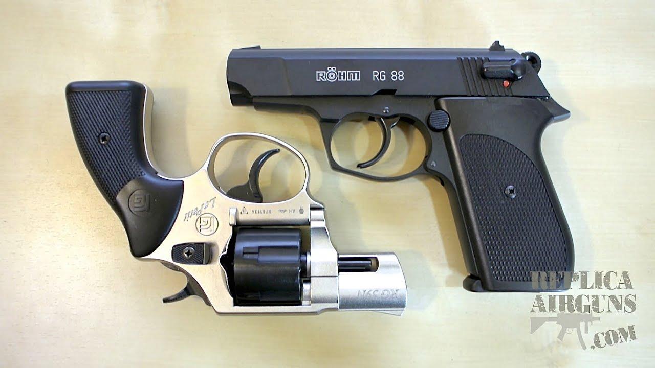 ROHM (RÖHM) RG-88 & RG-59 Blank Pistol Revue complète