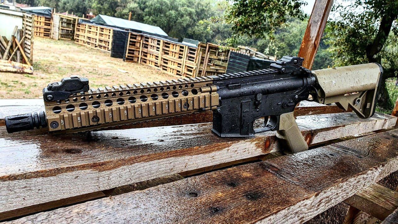 Nouveau MK18 Daniel Defense de Specna Arms |  Revue Airsoft en espagnol
