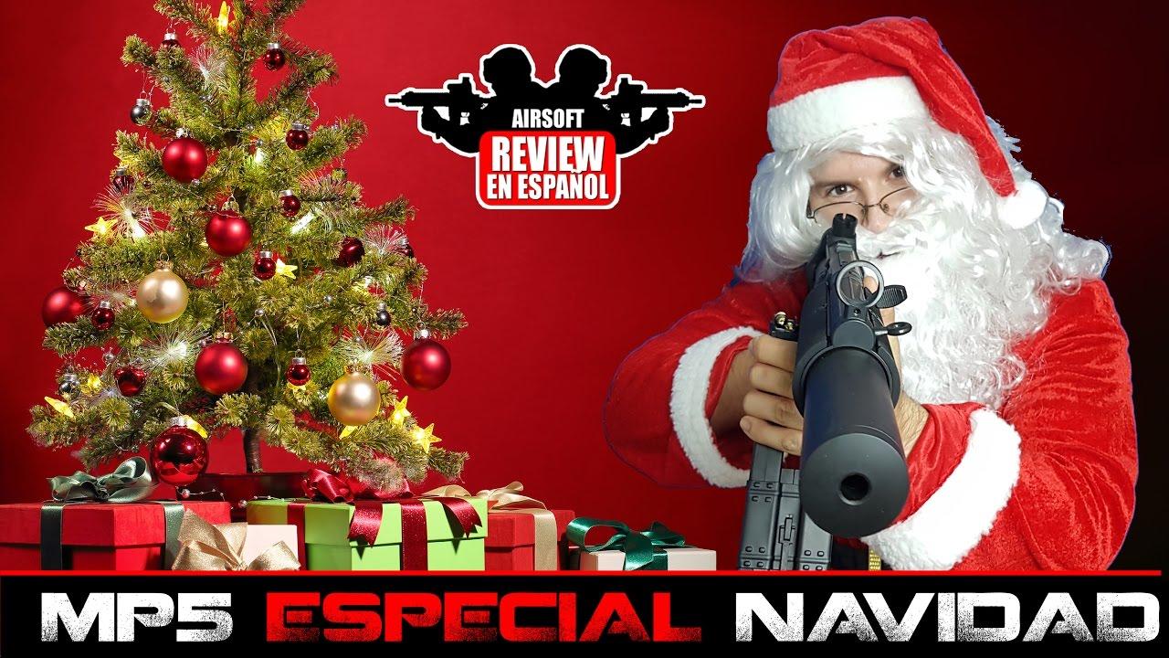 MP5 WELL PACK SPÉCIAL NAVIDAD Airsoft Review en Español (HD 1080p) TEST SHOT