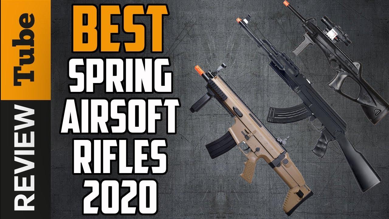 ✅Airsoft Rifle: Meilleurs fusils Airsoft de printemps 2020 (Guide d'achat)