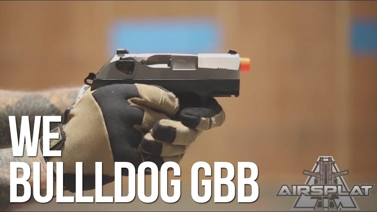 Pistolet à gaz WE Bulldog Airsoft Blowback – AirSplat On Demand