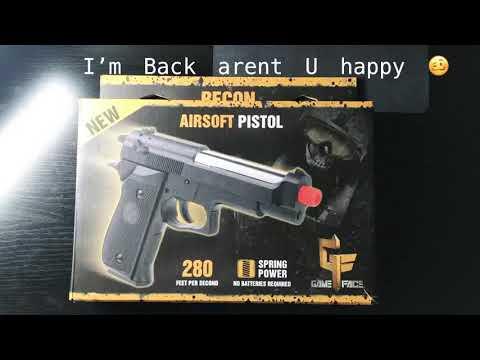 Revue du pistolet Game Face Airsoft Est-ce bon ou mauvais