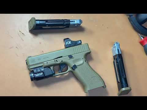 Pas de munitions?  Aucun problème!  Umarex Glock 19X CO2 Blowback Review