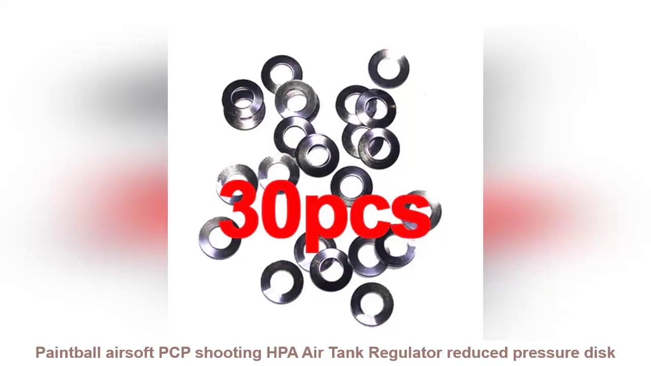 Donner votre avis sur Paintball airsoft PCP tir HPA régulateur de réservoir d'air disque à pression réduite 30 / 60pcs sh gratuit