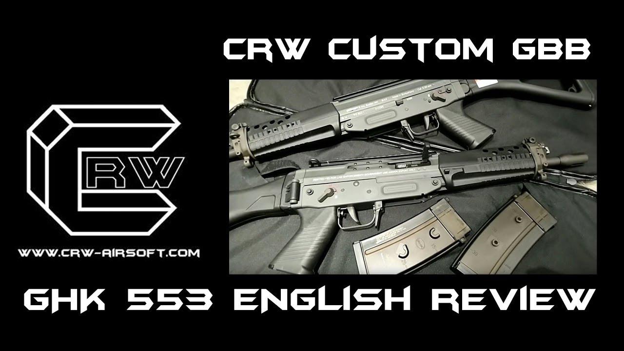 Avis CRW Anglais GHK 553