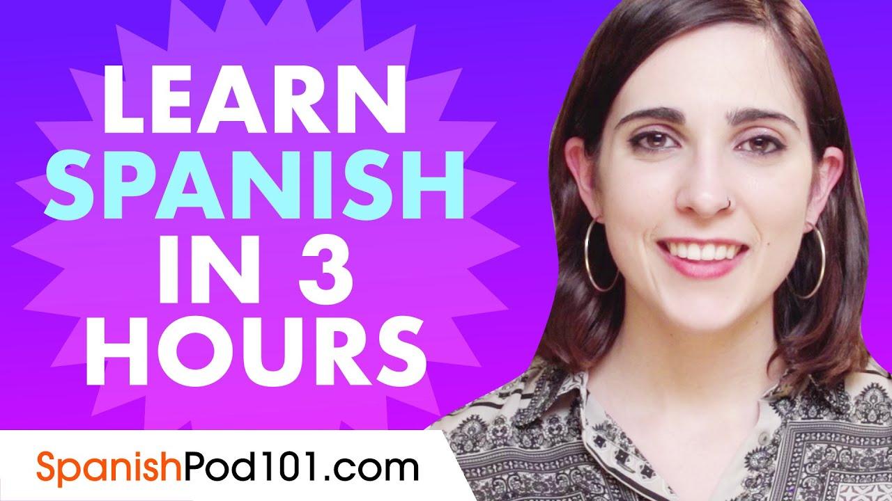 Apprenez l'espagnol en 3 heures – TOUTES les bases d'espagnol dont vous avez besoin en 2020