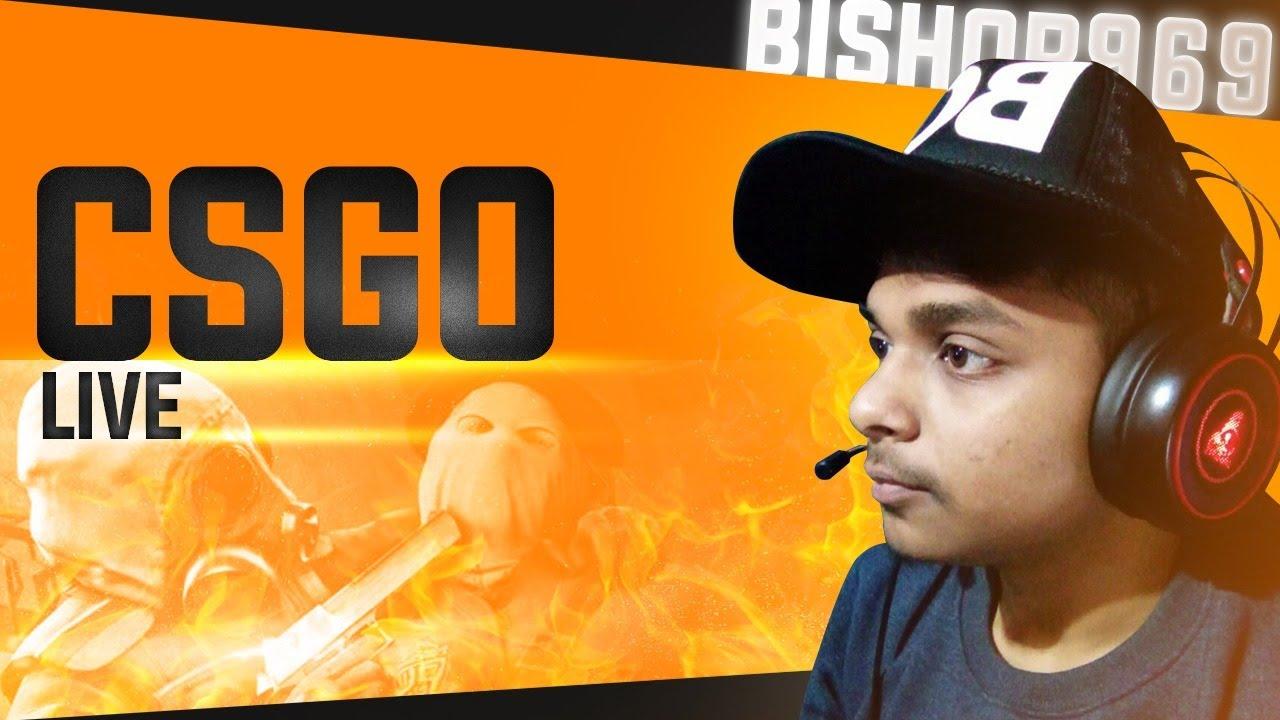 🔴 Bishop969 – LIVE – CSGO INDIA |  Rolling 2x AWP Atheris Giveaway