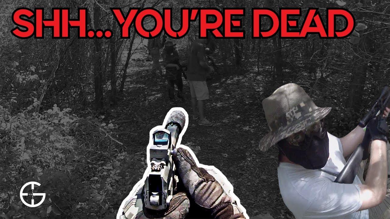 Sniper couteau toute une escouade