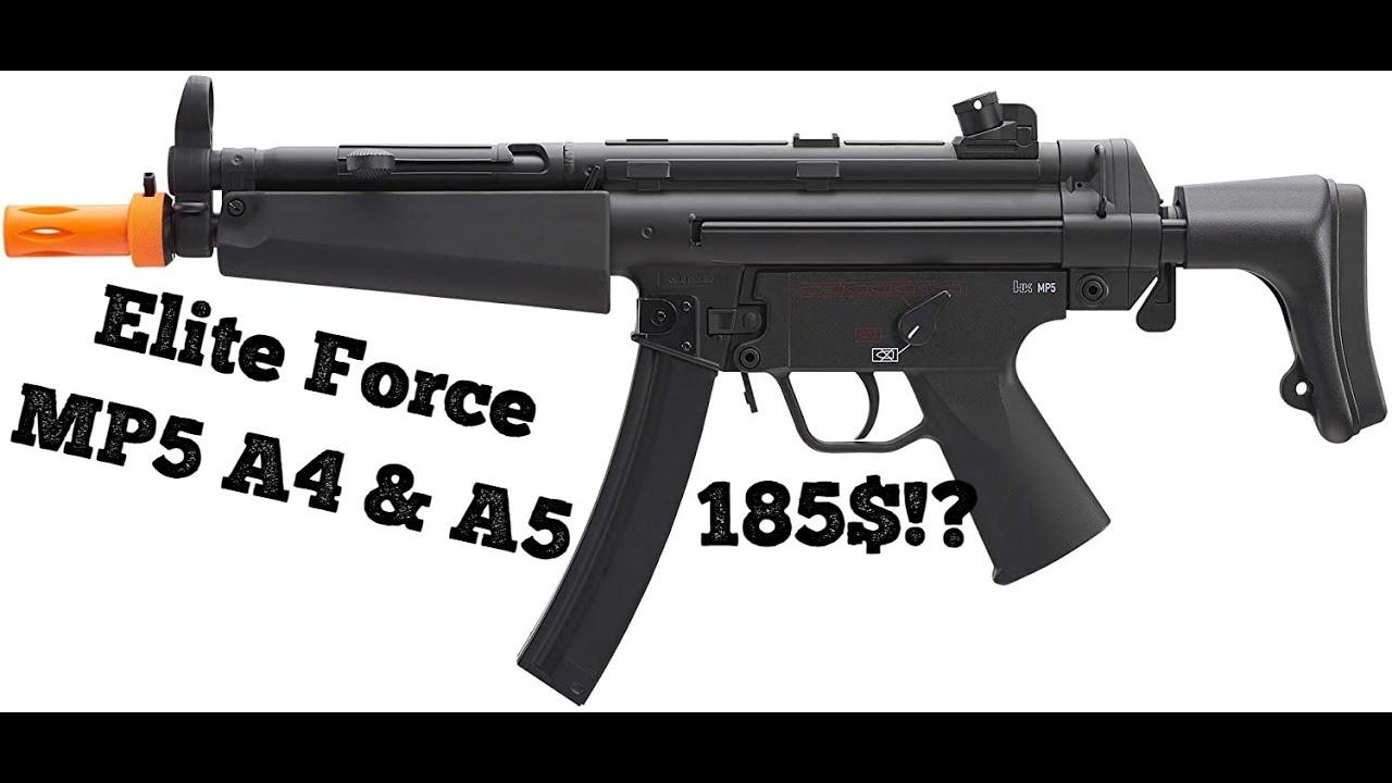 Elite Force MP5 A4 & A5 Revue complète