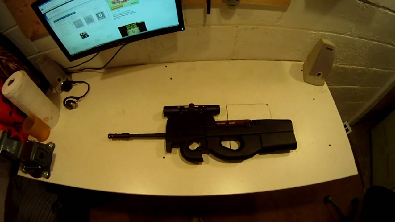 Conversion P90 Ruger 10/22 Comment faire une mitrailleuse secondaire