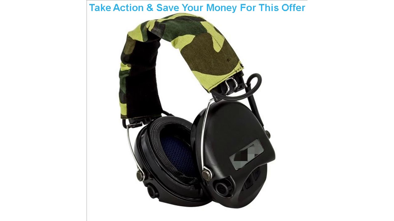 Examen du casque tactique Airsoft Sordin Chasse en plein air Protection auditive Réduction du bruit Tir