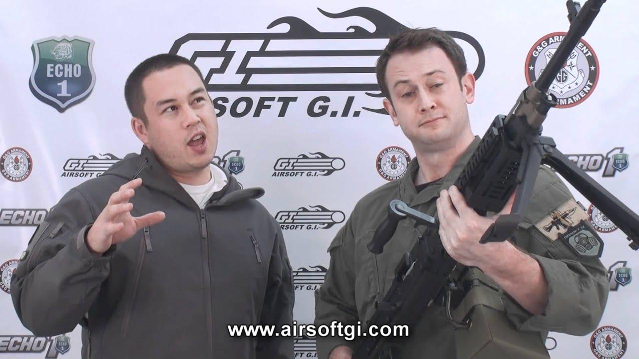Airsoft GI – Echo1 M240 Bravo LMG Airsoft Gun Review