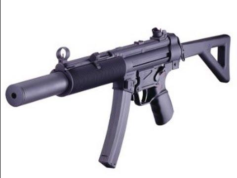Test du pistolet ICS MP5SD6-F Airsoft