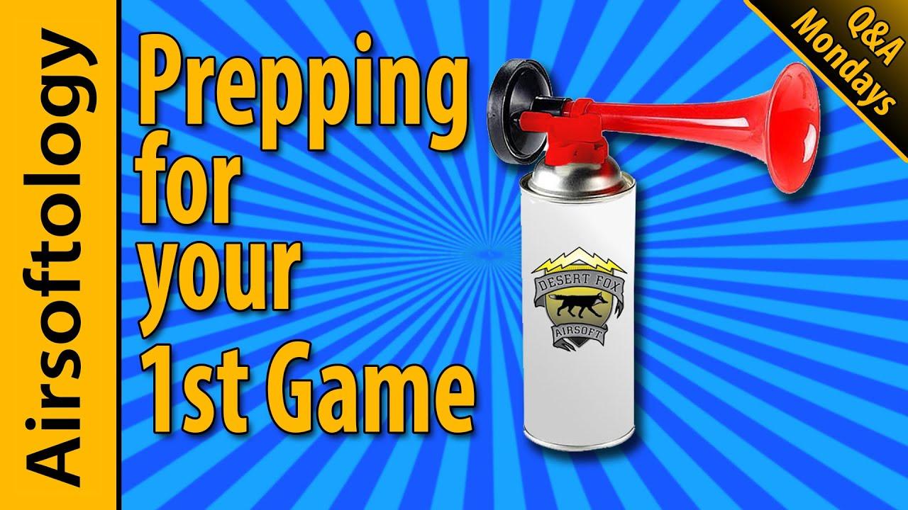 Comment préparer votre premier jeu Airsoft et les lasers IR »wiki utile  avec Jet Desert Fox |  Lundis d'airsoftologie