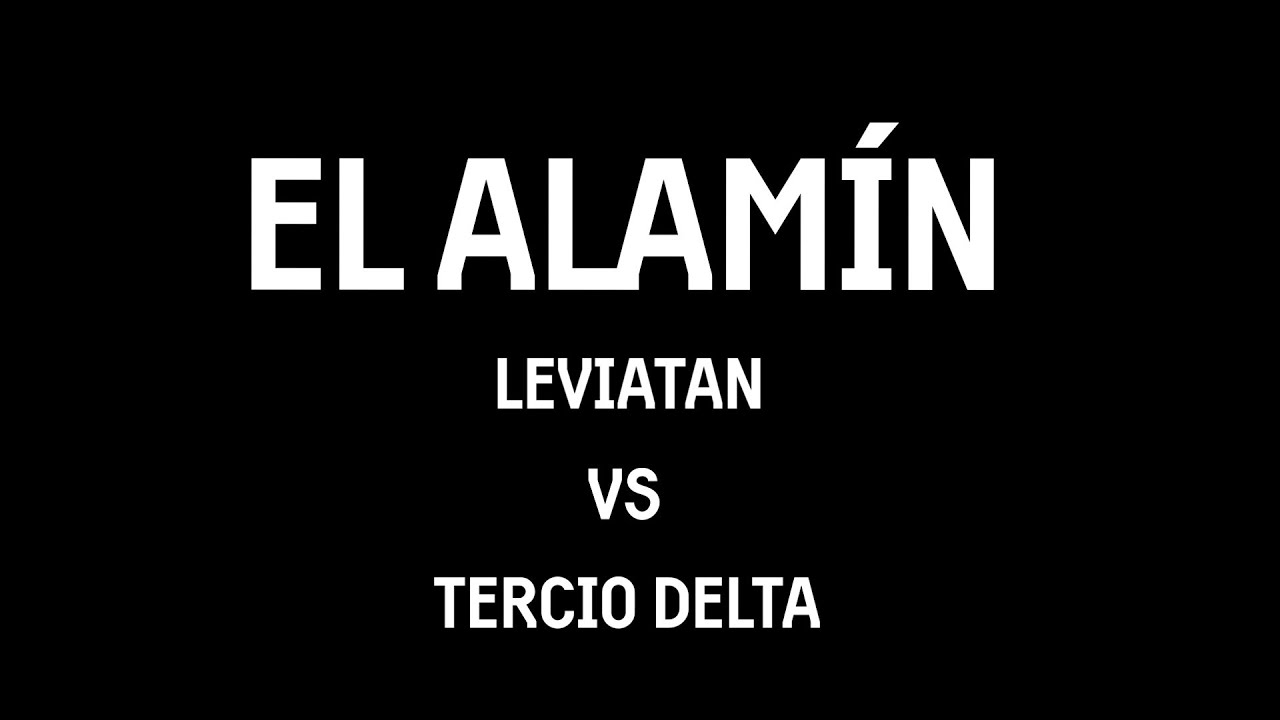 EL ALAMÍN: LEVIATÁN CONTRE TROISIÈME DELTA    AIRSOFT MADRID