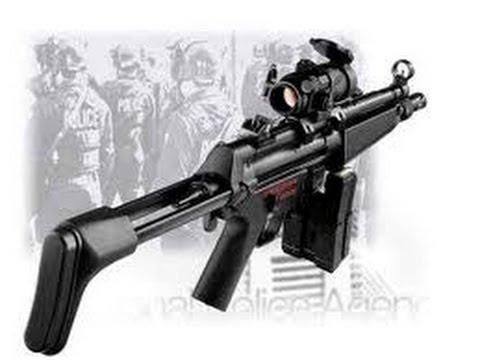MP5 Cyma CM.027-j  AIRSOFT REVIEW ( test+présentation )