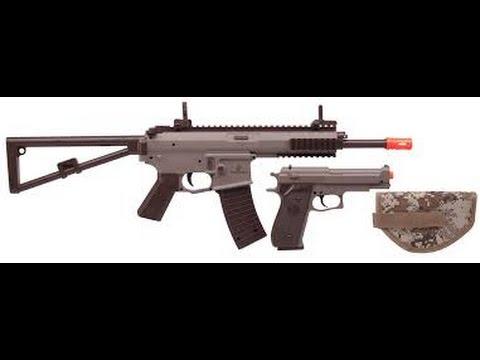 Revue du pistolet: Kit Airsoft KT01 US Marines