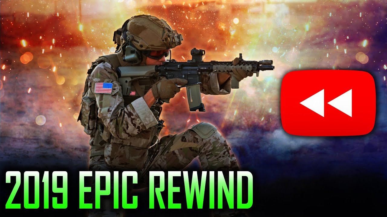 GAMEPLAY AIRSOFT LE PLUS MAUVAIS FAIT DU REWIND EPIC 2019