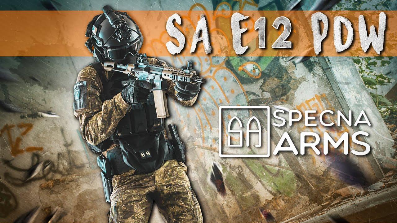 Présentation SA E-12 PDW Specna Arms [AIRSOFT FRANCAIS]