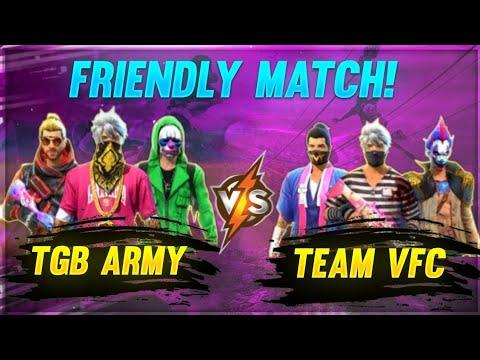Match amical TGB ARMY Vs VFC 4vs4❤️