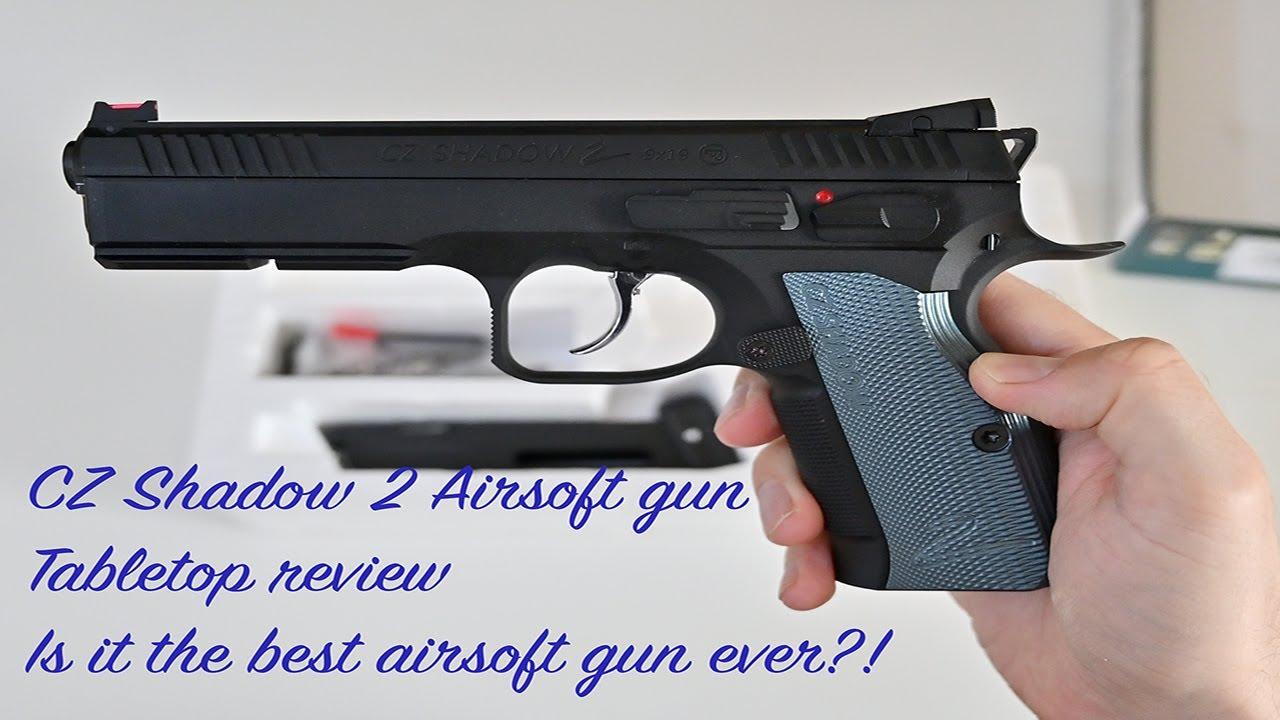 CZ Shadow 2 Airsoft Gun – Est-ce le meilleur pistolet Airsoft de tous les temps?  – Revue de table!