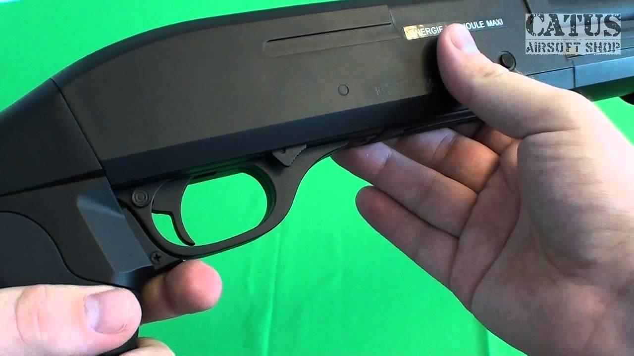 Examen du pistolet Airsoft: Fusil à pompe Firepower MS (cybergun)