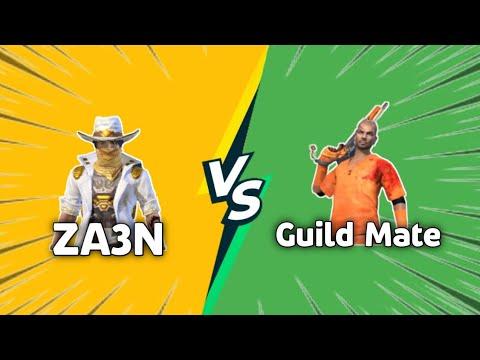 ZA3N vs membre de la guilde _ G18 vs All Guns _ Room Challenge