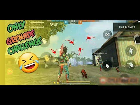 défi de grenade à tir libre uniquement dans une salle personnalisée.  Gameplay très drôle 3vs3 #garenade #gamerxboy