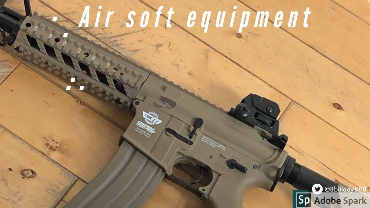 Examen de l'équipement Airsoft