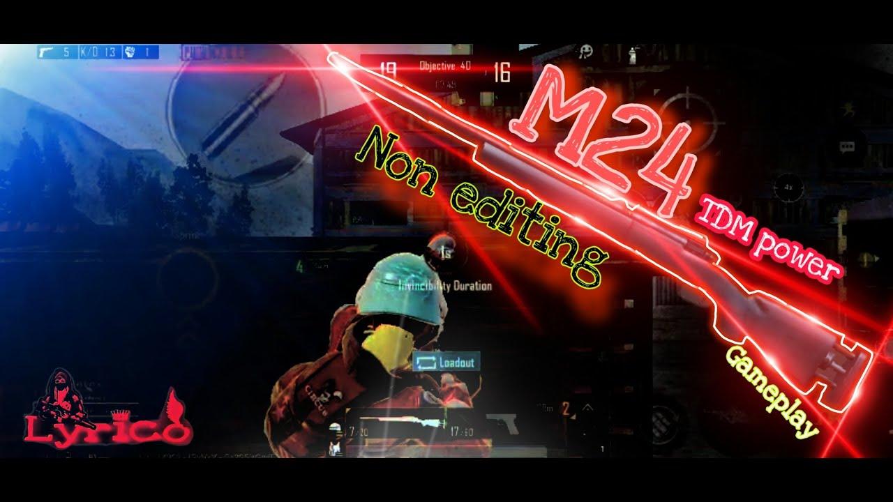 Gameplay M24 |  Défi M24 pas de modification |  😉lyricozone