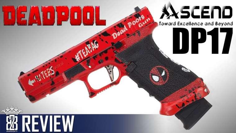 ASCEND DP17 – Deadpool Glock 17 GBB Airsoft Review – Deutsch