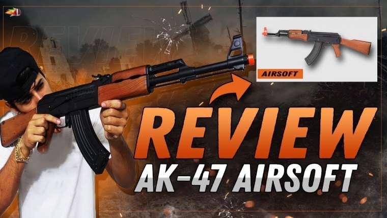 REVUE: Fusil Airsoft AK-47 cyma cm.022 POUR DÉBUTANT !!!