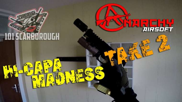 ANARCHY AIRSOFT @ 101 Scarborough Airsoft – Salut-Capa Madness Take 2