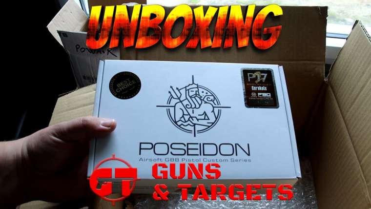 UNBOXING AIRSOFT RÉPLIQUES ET CONSOMMABLES (GUNS AND TARGETS)