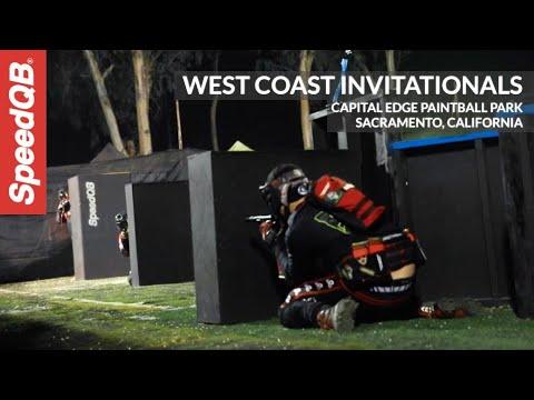 Montage du tournoi |  SpeedQB West Coast Invitationals à Capital Edge Paintball Park, Sacramento CA