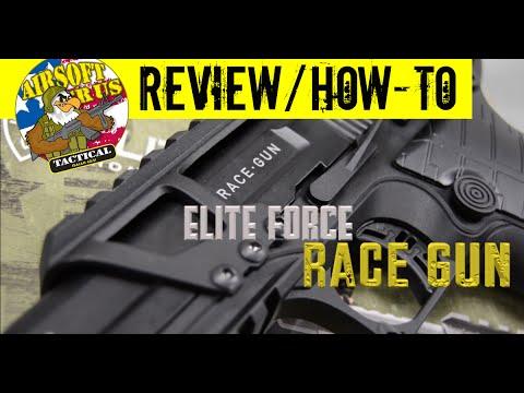 Examen du pistolet Elite Force RACE + mode d'emploi!  Airsoft R US Tactique