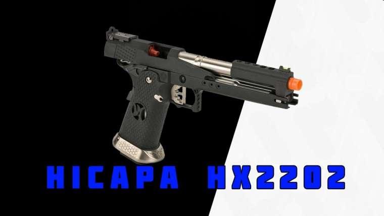 Pistola Armorer Works HX2202 Hicapa |  Revue Airsoft |  Patriotas Airsoft |