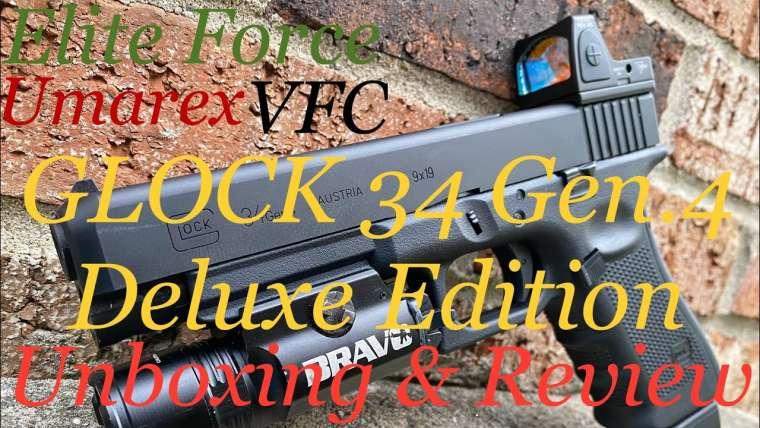 LE TOUT NOUVEAU Elite Force GLOCK 34 Gen.4 Deluxe Edition Review et premières impressions!