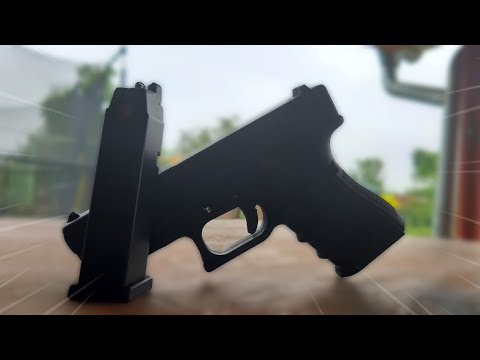 (Airsoft) WE G19 / Glock-19 GEN 4 GBB Unboxing [Review/Test/Shooting]