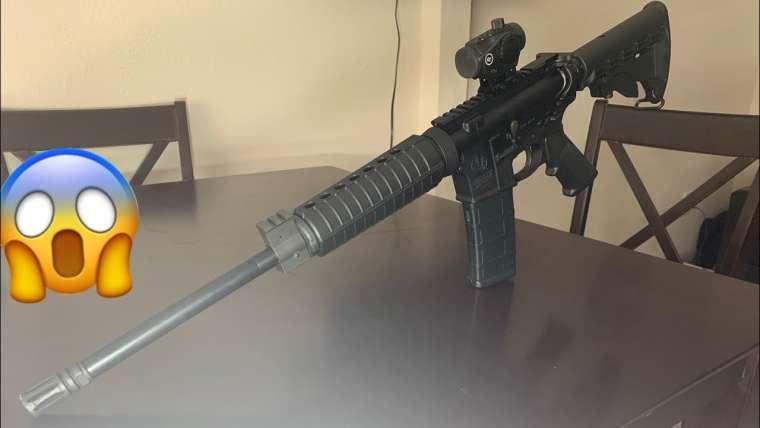 Revue de l'AR-15‼ ️ (dernière revue du pistolet) 😔
