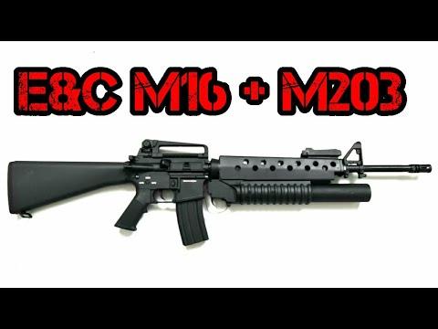 [R] E&C M16 avec M203 UGL |  Chaîne Airsoft de Tom
