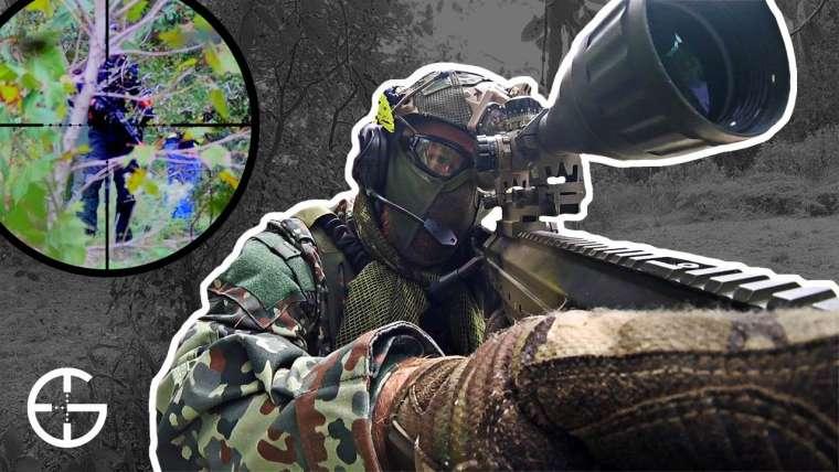 Nouveau camouflage Flecktarn … le même tireur d'élite tue
