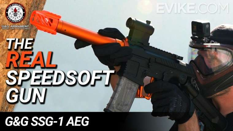 Le vrai pistolet SpeedSoft – G&G SSG-1 AEG – Critique