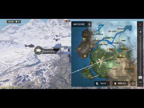 Call of Duty Mobile Battle Royale MODE Vidéo d'atterrissage en parachute d'atterrissage HsStudio COD Mobile Gaming