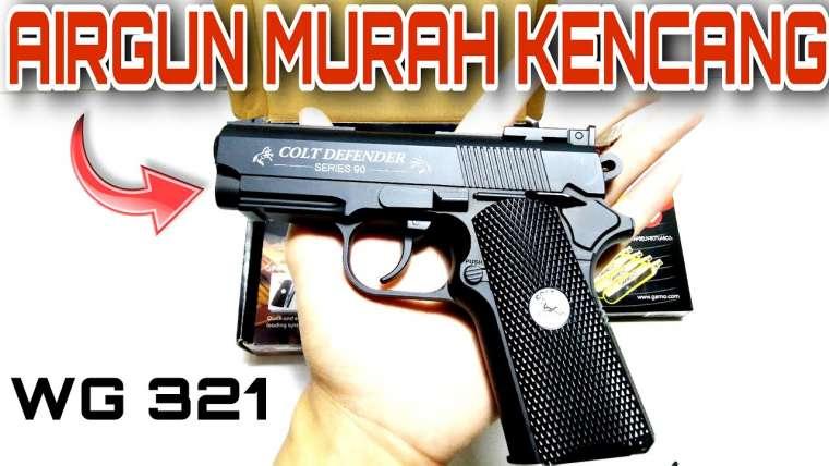 Airgun WG 321 Colt Defender Examen de la mise à niveau |  Airgun bon marché mais rapide