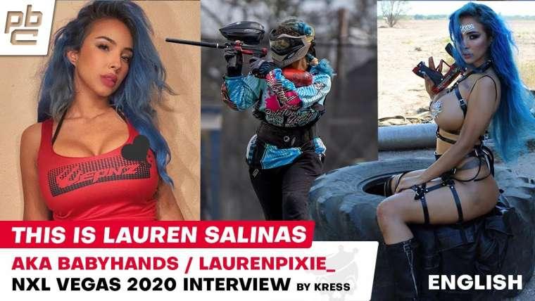 Lauren Salinas alias Babyhands alias Laurenpixie_ a Paintball Lady