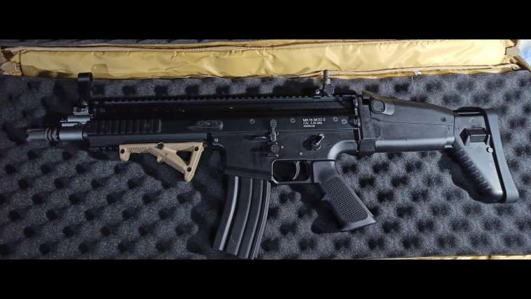 We Scar L GBBR Airsoft Revue complète (tagalog)